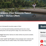 Qantas Holidays honours its online Four Seasons Bali pricing mistake deal – possibly at its own cost